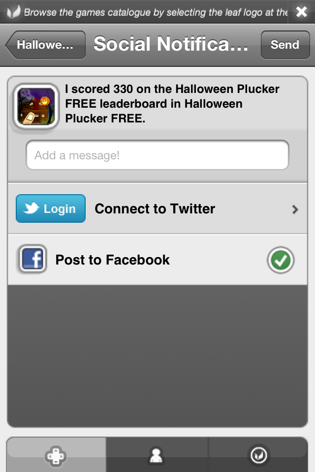 Screenshot Halloween Plucker FREE
